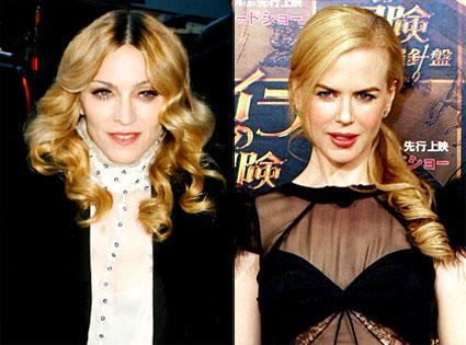 Madonna, Nicole Kidman