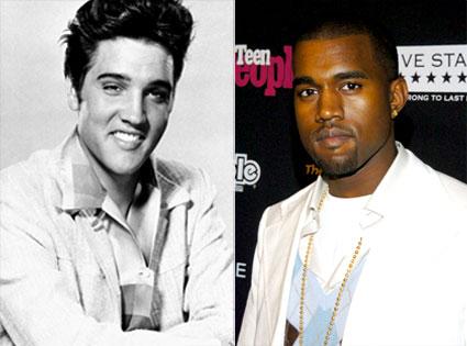Kanye West, Elvis Presley