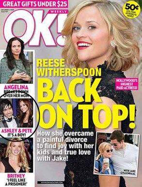 Ashlee Simpson, Ok magazine
