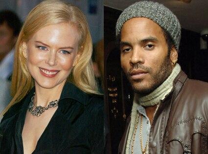 Nicole Kidman, Lenny Kravitz