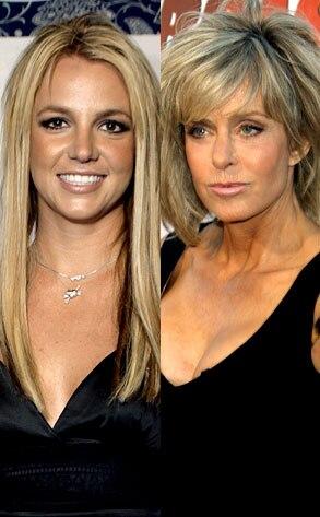 Britney Spears, Farrah Fawcett