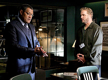 CSI, Lawrence Fishburne, William Petersen