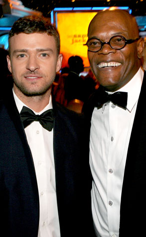 Justin Timberlake, Samuel L Jackcon, Cinematheque Awards