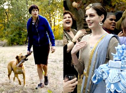 Anne Hathaway, Michelle Williams