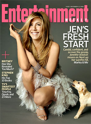 Jennifer Aniston, Entertainment Weekly Cover
