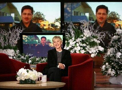 Brad Pitt, Ellen DeGeneres