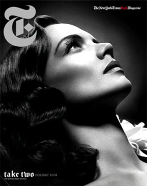 Katie Holmes, T Magazine Cover
