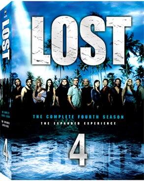 Lost, Season 4, DVD Box Art