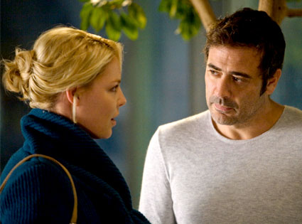 Grey's Anatomy, Katherine Heigl, Jeffrey Dean Morgan
