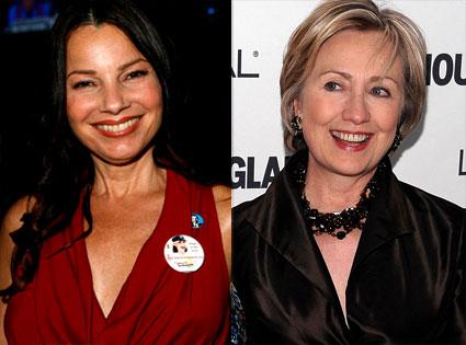 Fran Drescher, Hillary Clinton