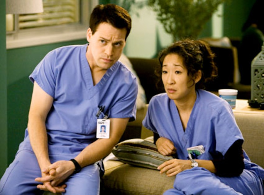 Grey's Anatomy, Sandra Oh, T.R. Knight