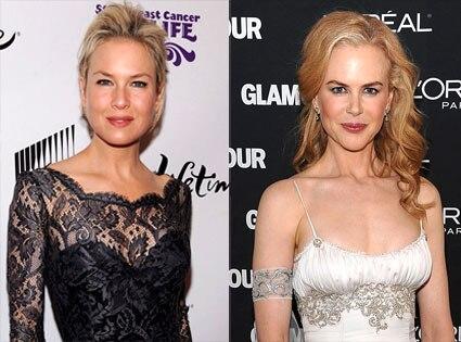 Renee Zellweger, Nicole Kidman