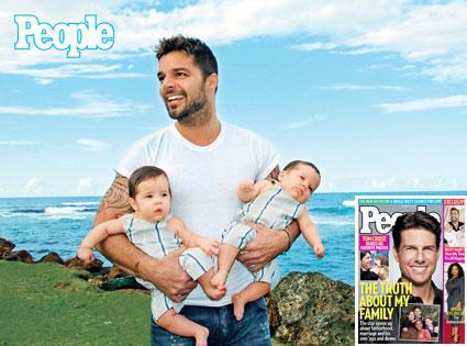 Ricky Martin, Tom Cruise, People