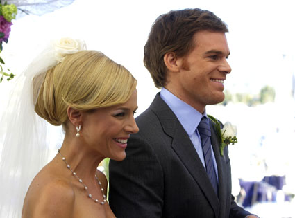 Julie Benz, Michael C. Hall, Dexter