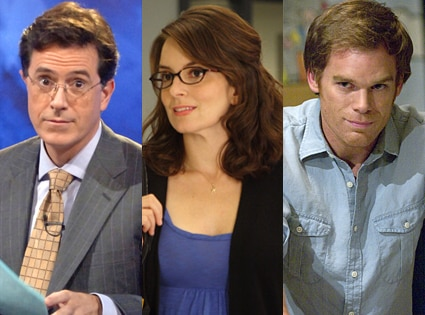 Stephen Colbert, Colbert Report, Tina Fey, 30 Rock, Michael C.Hall, Dexter
