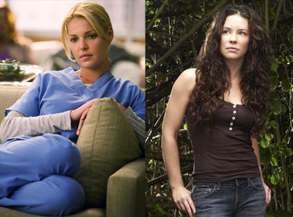Katherine Heigl, Evangeline Lilly