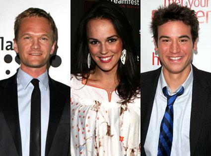 Neil Patrick Harris, Erin Cahill, Josh Radnor