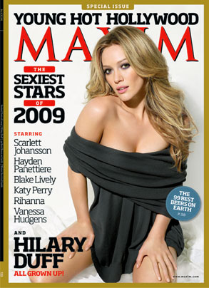 Hilary Duff, Maxim