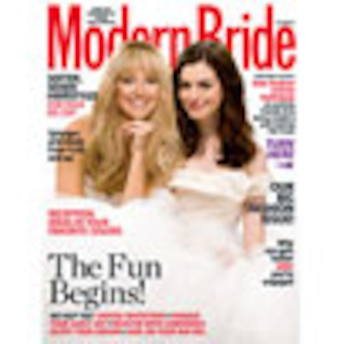 Anne Hathaway, Kate Hudson, Modern Bride Cover