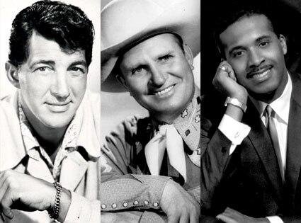Dean Martin, Gene Autry, Levi Stubbs