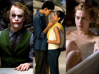 Heath Ledger (The Dark Knight), Slumdog Millionaire, The Reader