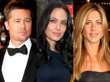 Brad Pitt, Angelina Jolie, Jennifer Aniston