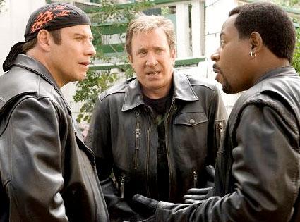 John Travolta, Tim Allen, Martin Lawrence, Wild Hogs