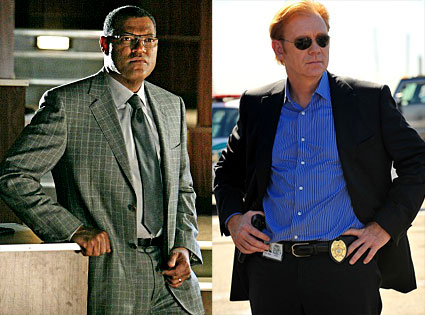 Laurence Fishburne, David Caruso, CSI