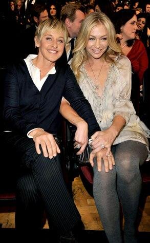 Ellen Degeneres Amp Portia De Rossi From Cougars N Cradle