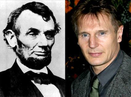 Liam Neeson, Abe Lincoln