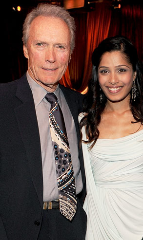 Clint Eastwood, Frieda Pinto