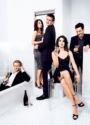 How I Met Your Mother,Harris,Hannigan,Segel,Smulders,Radnor