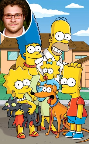 The Simpsons, Seth Rogen