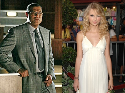 Laurence Fishburne, CSI, Taylor Swift