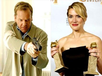 Kiefer Sutherland, Kate Winslet