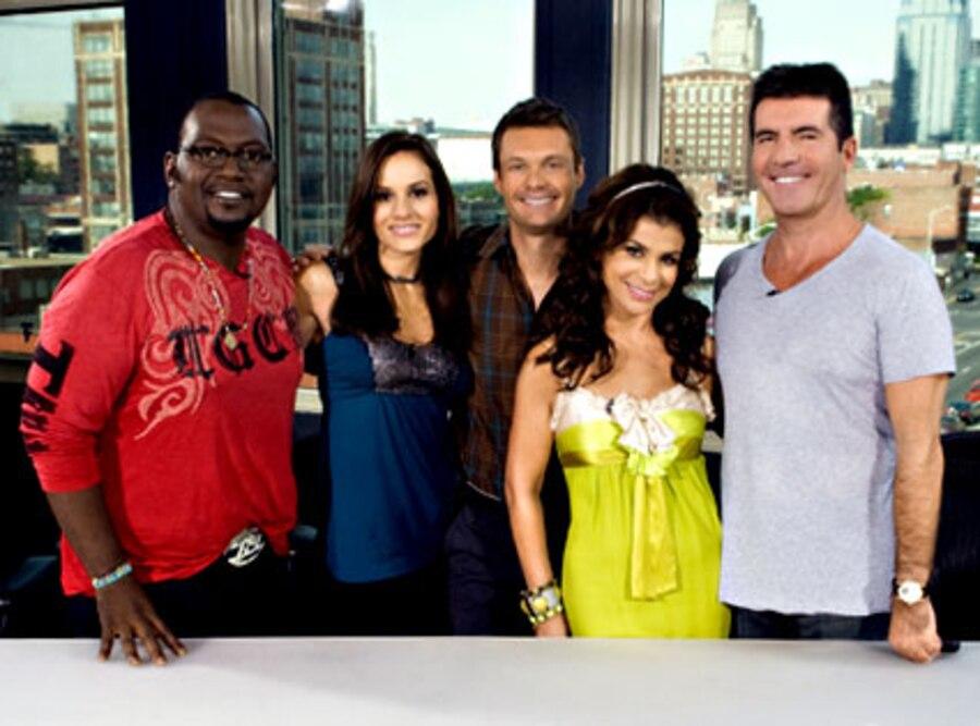American Idol, Randy Jackson, Kara Dioguardi, Ryan Seacrest, Paula Abdul, Simon Cowell