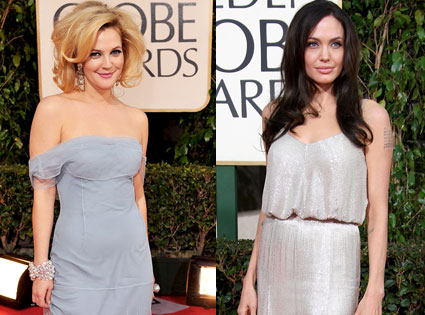 Drew Barrymore, Angelina Jolie