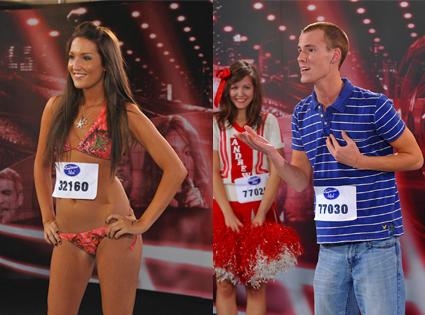 American Idol Auditioners, Katrina Phoenix, Andrew Kansas City