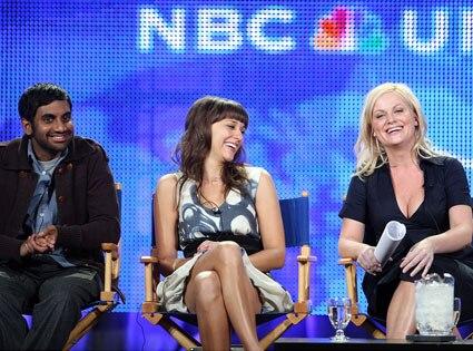 Aziz Ansari,Rashida Jones, Amy Poehler