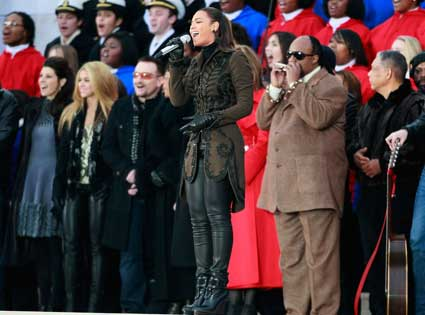 Beyonce Knowles, Stevie Wonder