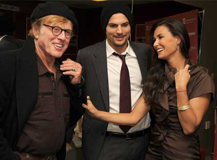 Robert Redford, Ashton Kutcher, Demi Moore