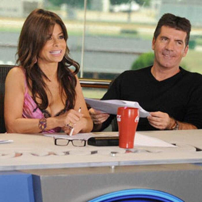 Paula Abdul, Simon Cowell