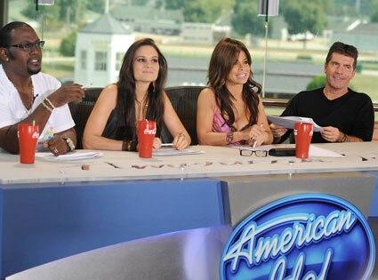 Randy Jackson, Kara DioGuardi, Paula Abdul, Simon Cowell