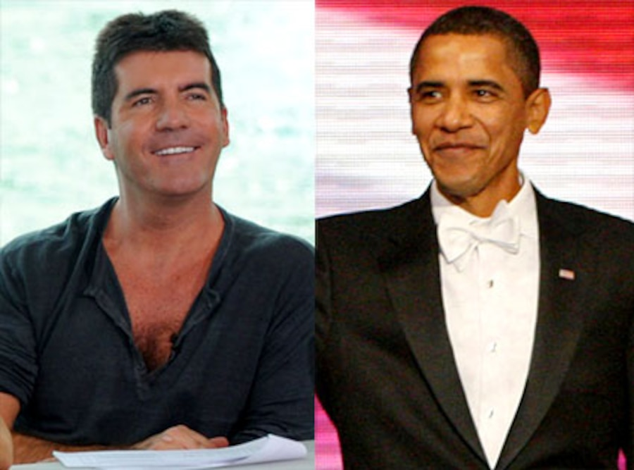 Simon Cowell, Barack Obama