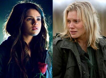 Katee Sackhoff (Battlestar Galactica), Selena Gomez (Another Cinderella Story)
