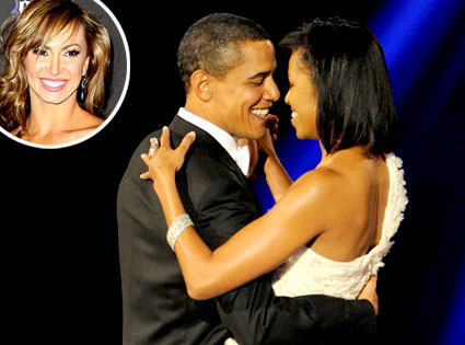 Barack Obama, Michelle Obama, Karina Smirnoff