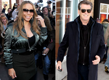 Mariah Carey, Pierce Brosnan