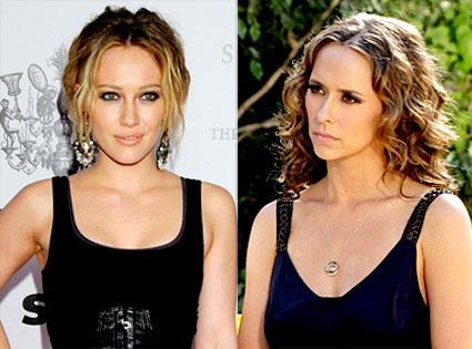 Hilary Duff, Jennifer Love Hewitt
