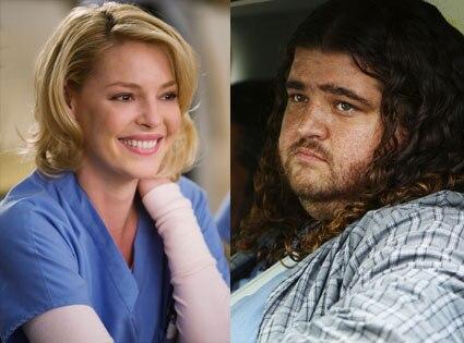 Katherine Heigl (Grey's Anatomy), Jorge Garcia (Lost)