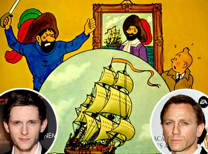 Jamie Bell, Daniel Craig, The Adventures of TinTin